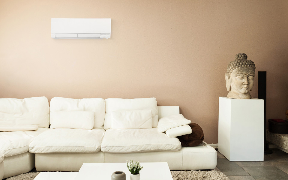 Ductless heat pump systems
