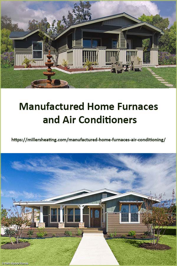 Intertherm has designed and manufactured furnaces, heat pumps, and air conditioners that are sized and built specifically for mobile and manufactured homes. #manufacturedhome #HVAC #Intertherm @millersheatingair