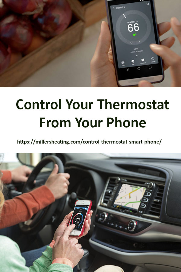 With the Lennox iComfort Wi-Fi and iComfortS30 thermostats, you can control your thermostat from your smartphone, tablet or laptop from anywhere in the world. #Lennox #thermostat #iComfort @millersheatingair
