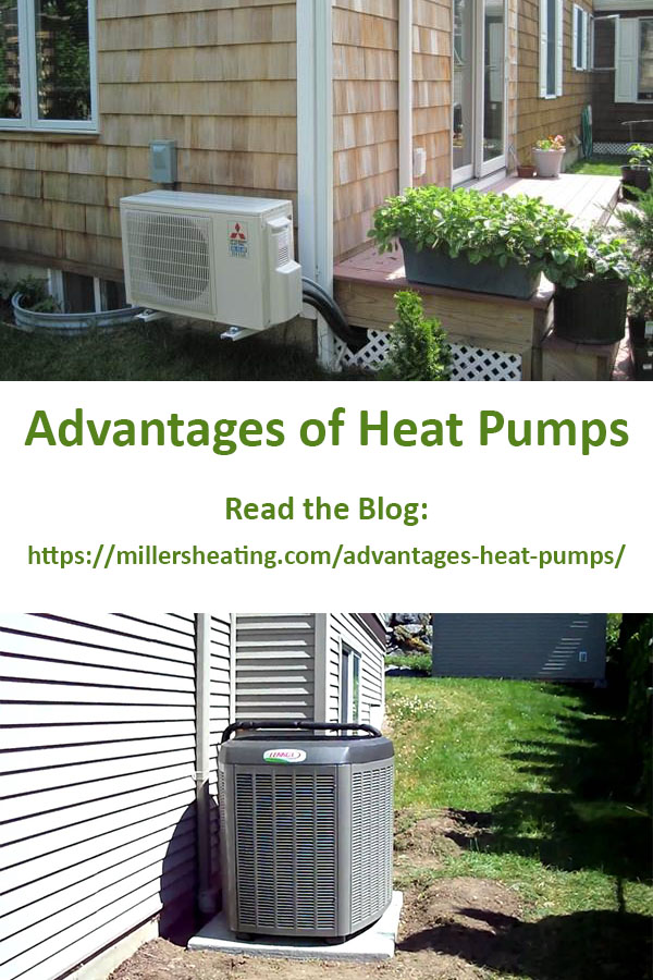 Heat pumps are unique because they can both heat and cool a home through environmentally friendly means. #heatpump #HVAC #energyefficient @millersheatingair