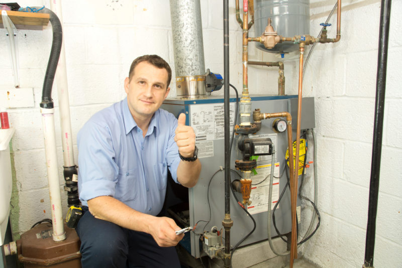 new furnace; licensed HVAC contractor