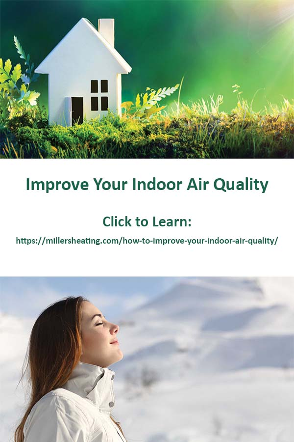 It is estimated that indoor air can be up to 70 times more polluted than outdoor air. With poor indoor air quality in your home, your family may experience exacerbated health problems such as allergies, respiratory issues and sinus issues. #IAQ #health #HVAC @millersheatingair