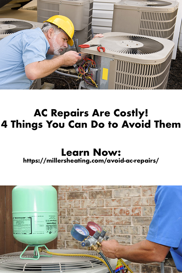 Breakdowns and AC repairs seem to be about as unpredictable as the weather. Learn what you can do to help prevent your AC unit from needing repair. #ACrepair #HVACtips #Summer @millersheatingair