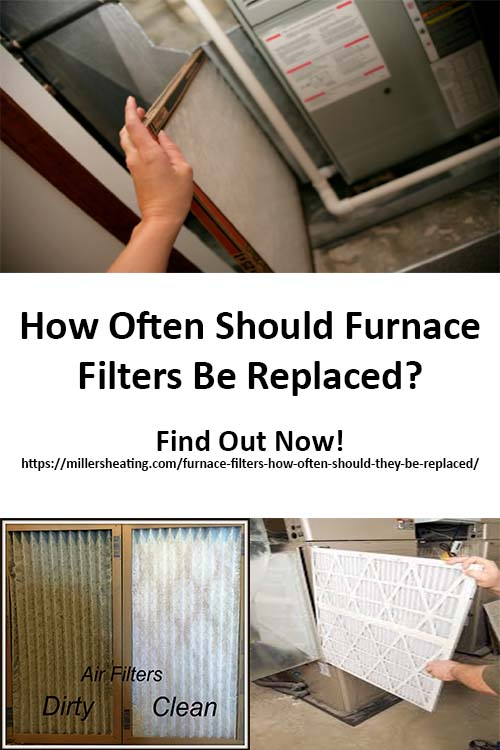 One of the most common questions we get asked is how often should furnace filters be changed? Changing your furnace filters is above all one of the easiest things you can do to protect your heating and cooling Vancouver WA system. This simple act keeps your system running efficiently, avoids system breakdowns and can lengthen the lifespan of your system. #Furnace #Furnacefilters #HVAC @millersheatingair