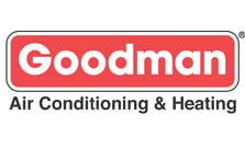 We service all residential Goodman heating and cooling systems