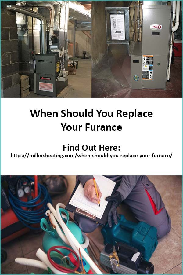 You've been told by a HVAC technician that it's time to replace your furnace. How do you know that this is correct? Is it time to schedule a heating system installation? You don't want to replace too early, but you also don't want to wait until your furnace is no longer working. Here are some basic guidelines to help you determine if it's time to replace your furnace. #furnace #HVAC #replacefurnace @millersheatingair