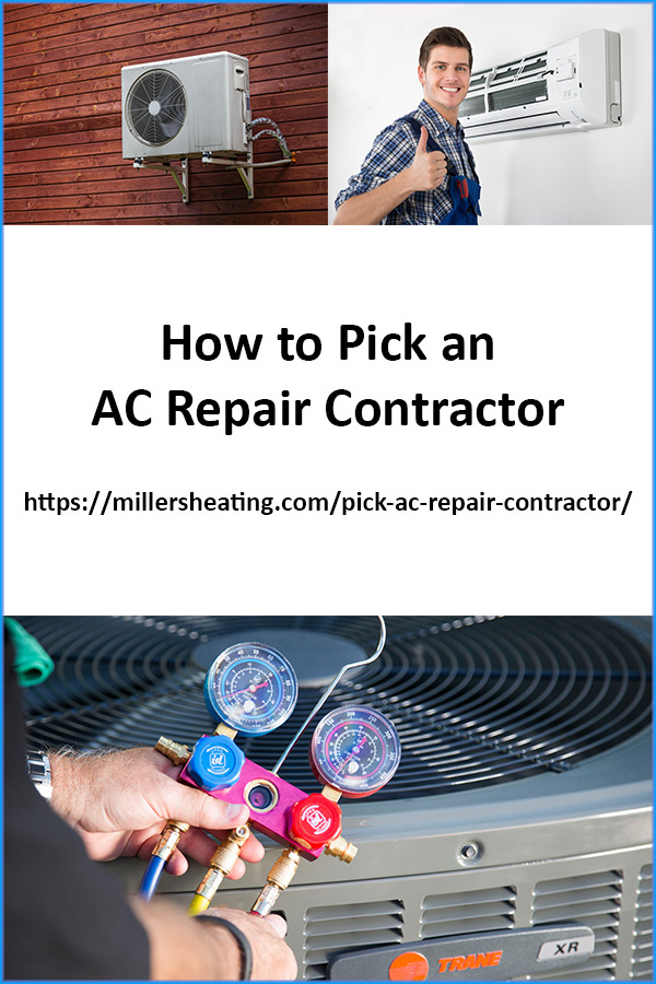 AC repairs and heat pump repair vancouver wa are far from cheap and choosing the right contractor to perform the repair can be difficult. Here are five things to keep in mind when picking an AC repair contractor. #ACrepairs #AC #HVAC #ACcontractor @millersheatingair