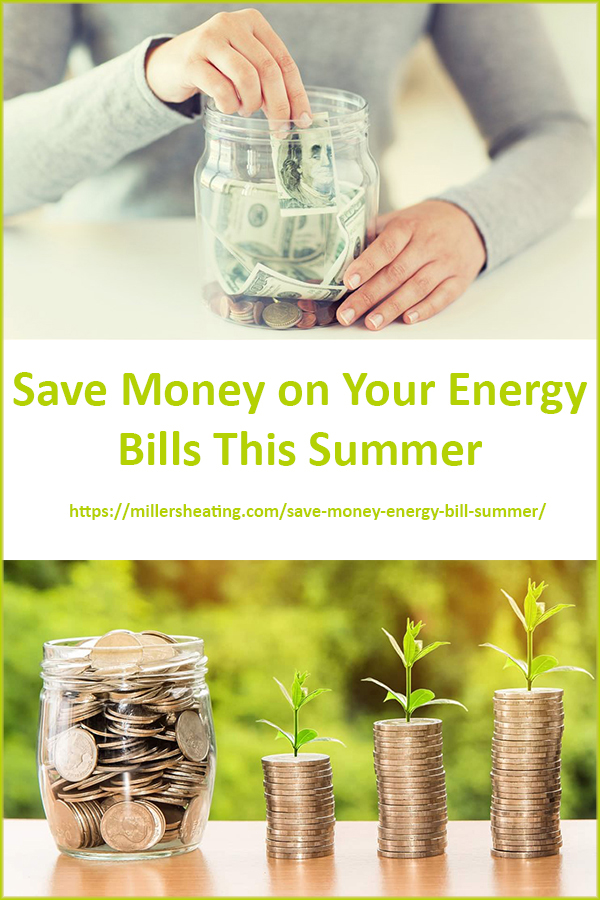 We have compiled a list of ways you can save money on your energy bills this summer while still enjoying your air conditioning. #AC #energybills #savings #HVAC @millersheatingair