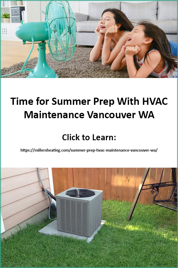 Summer is just around the corner which means the heat is coming. Before the hot weather hits make sure to check your air conditioner and heat pump to make sure it is running correctly and efficiently because the extreme weather will tax your system more than usual and cause issues if your system has any maintenance and repairs need to be made. #summer #HVAC #AC #ACmaintenance @millersheatingair