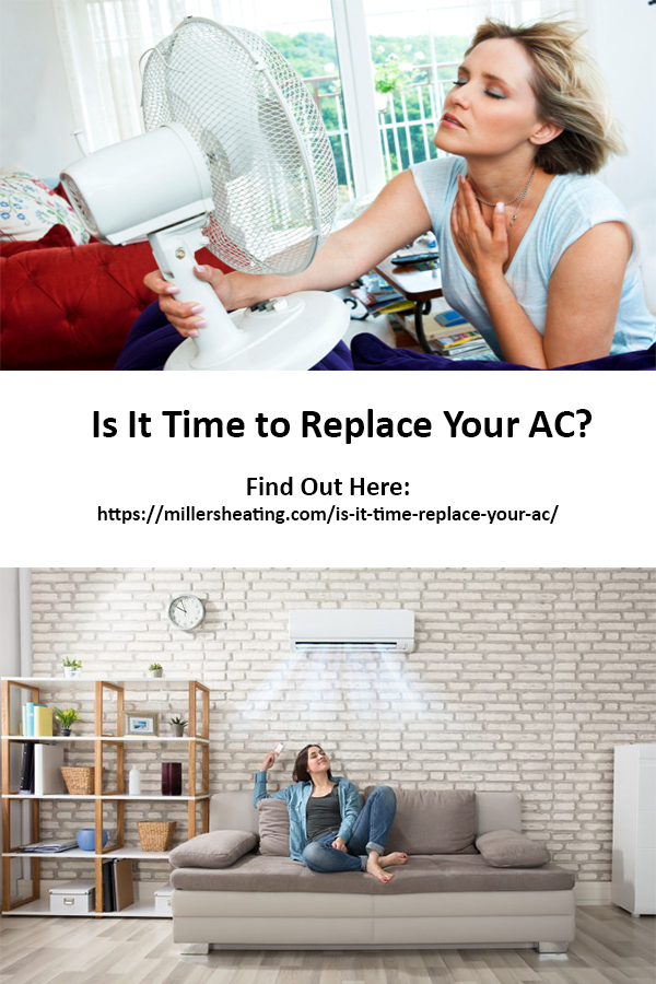It can be difficult to know when to replace AC, especially when handed an air conditioning repair bill. You don't want to invest money into a new system when your current system will last longer. Luckily there are five basic things to consider before deciding when to replace AC. #AC #replace #HVAC @millersheatingair