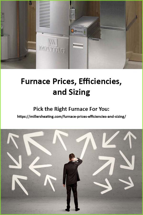 Furnace Prices, however, are determined by many small differences from one furnace to another. From efficiency to noise level to size, we will breakdown the major differences here. #furnace #price #HVAC @millersheatingair