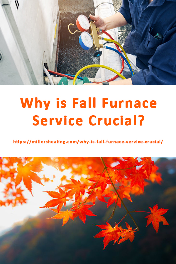 It's the industry standard practice to schedule an indoor heating furnace service in the Fall just like you schedule an AC service in the spring in preparation for the summer. Why is indoor heating furnace service so crucial? We outline three benefits of an annual Fall furnace service in this article. #Fall #furnace #maintenance @millersheatingair