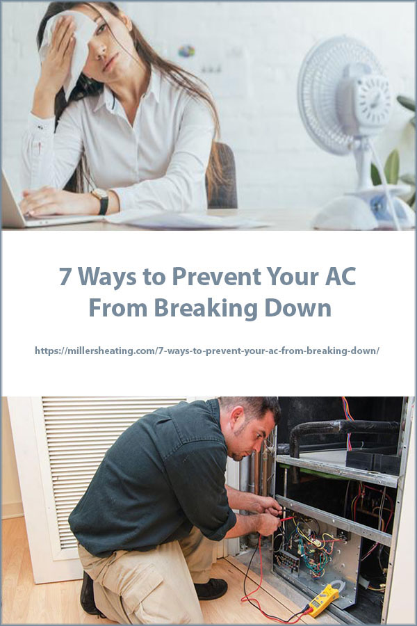 You can help prevent your AC from having cooling issues through preventative actions, such as an AC and cooling maintenance. #AC #coolingproblems #preventbreakdowns @millersheatingair
