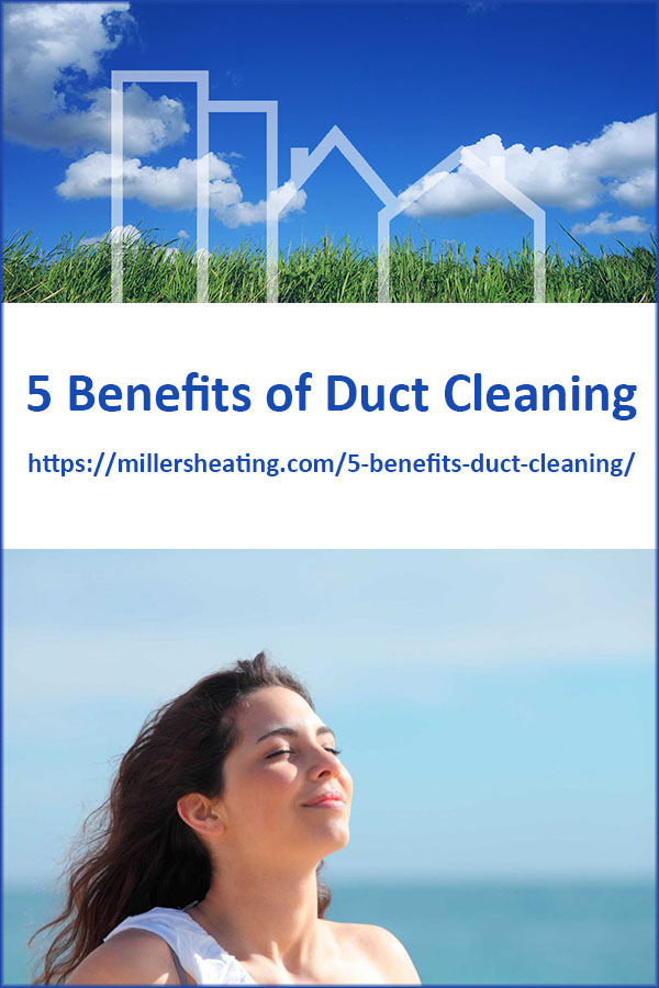 Studies have shown that up to 40lbs of dirt is produced in a six bedroom home annually and the levels of some hazardous pollutants in indoor air have been found to be up to 70 times greater than in outdoor air. #ductcleaning #IAQ #indoorairquality @millersheatingair