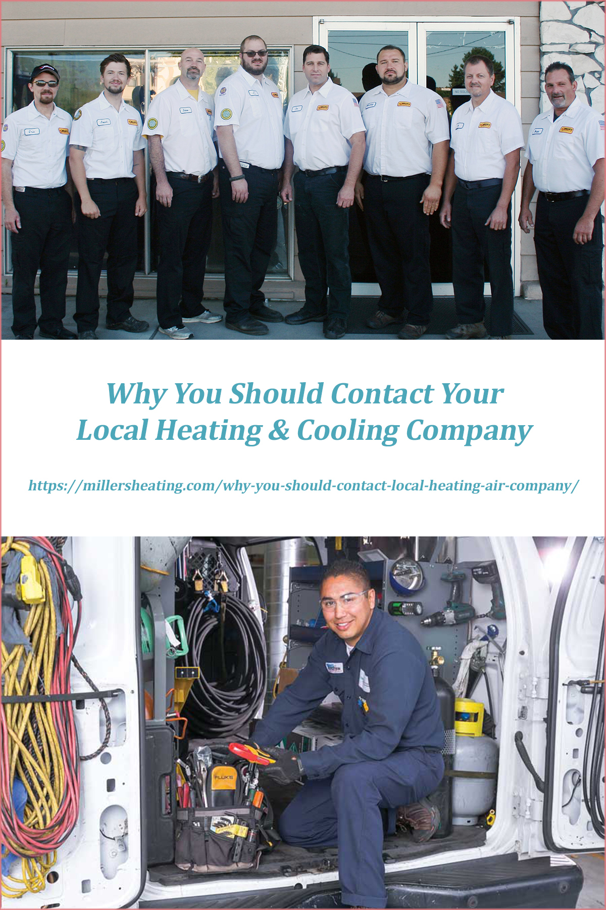 There are many reasons to call your local heating and air company apart from when your system isn't working right. #HVAC @millersheatingair
