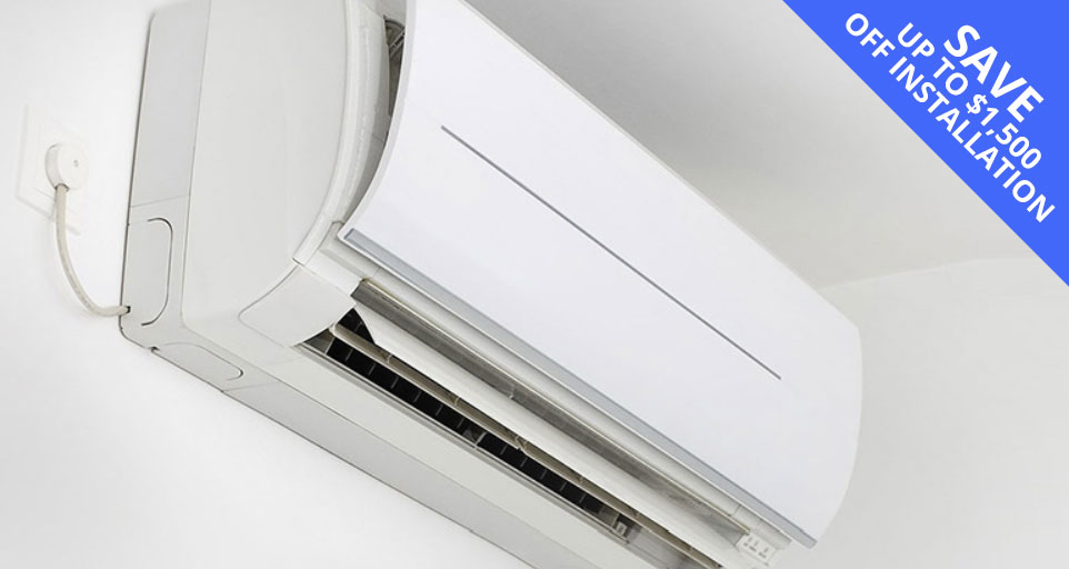 Ductless Mini Split Special