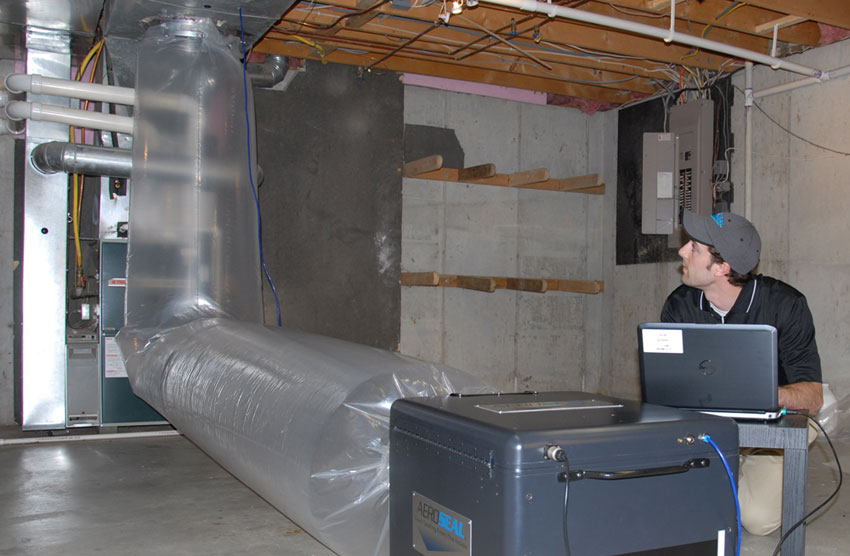 Have the ductwork sealed